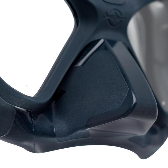 Masque Apnée Freediving SHARK bleu profond