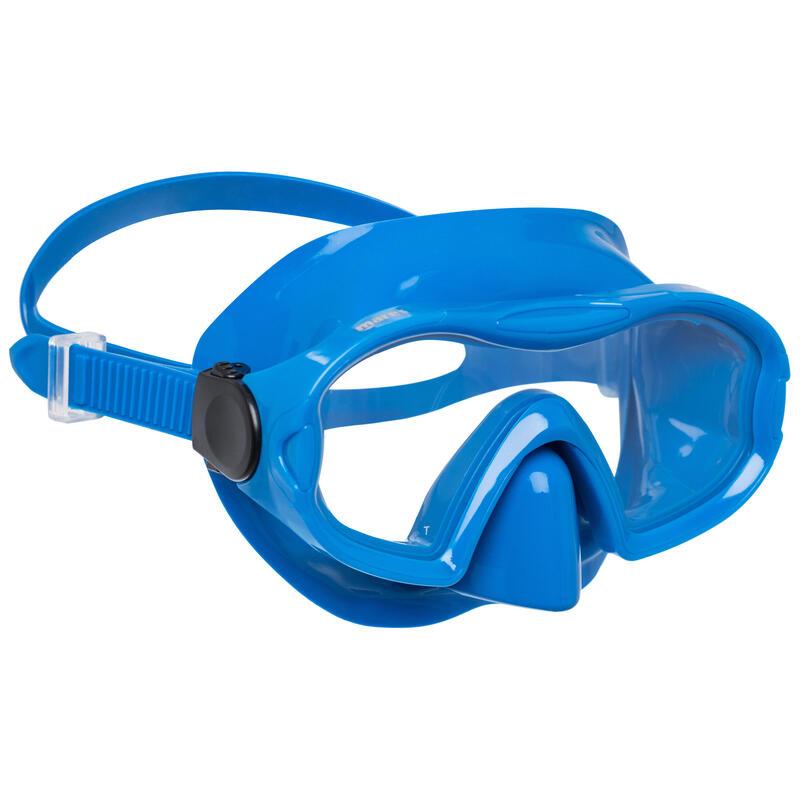 Snorkelmasker Blenny blauw