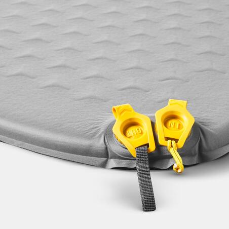 Self-inflating trekking mattress - TREK 500 XL grey