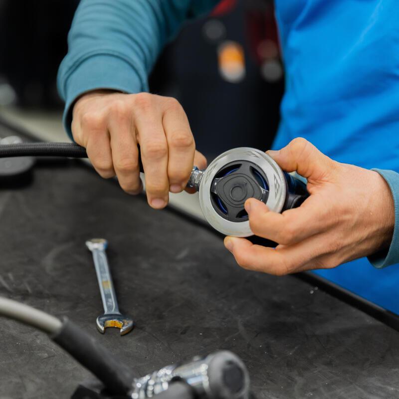 Entretenir et réparer son matériel de plongée bouteille après l'hiver