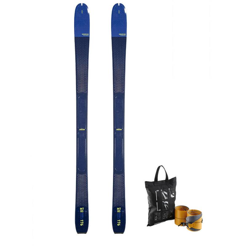 SKI TOURING Skialpinismus - SKIALPOVÉ LYŽE MT 85 WEDZE - Skialpové vybavení