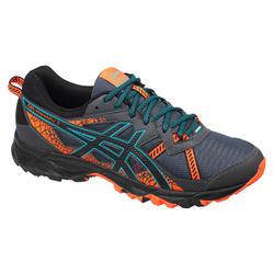 Laufschuhe Trail Gel Kanaku™ 3 Herren grau/orange