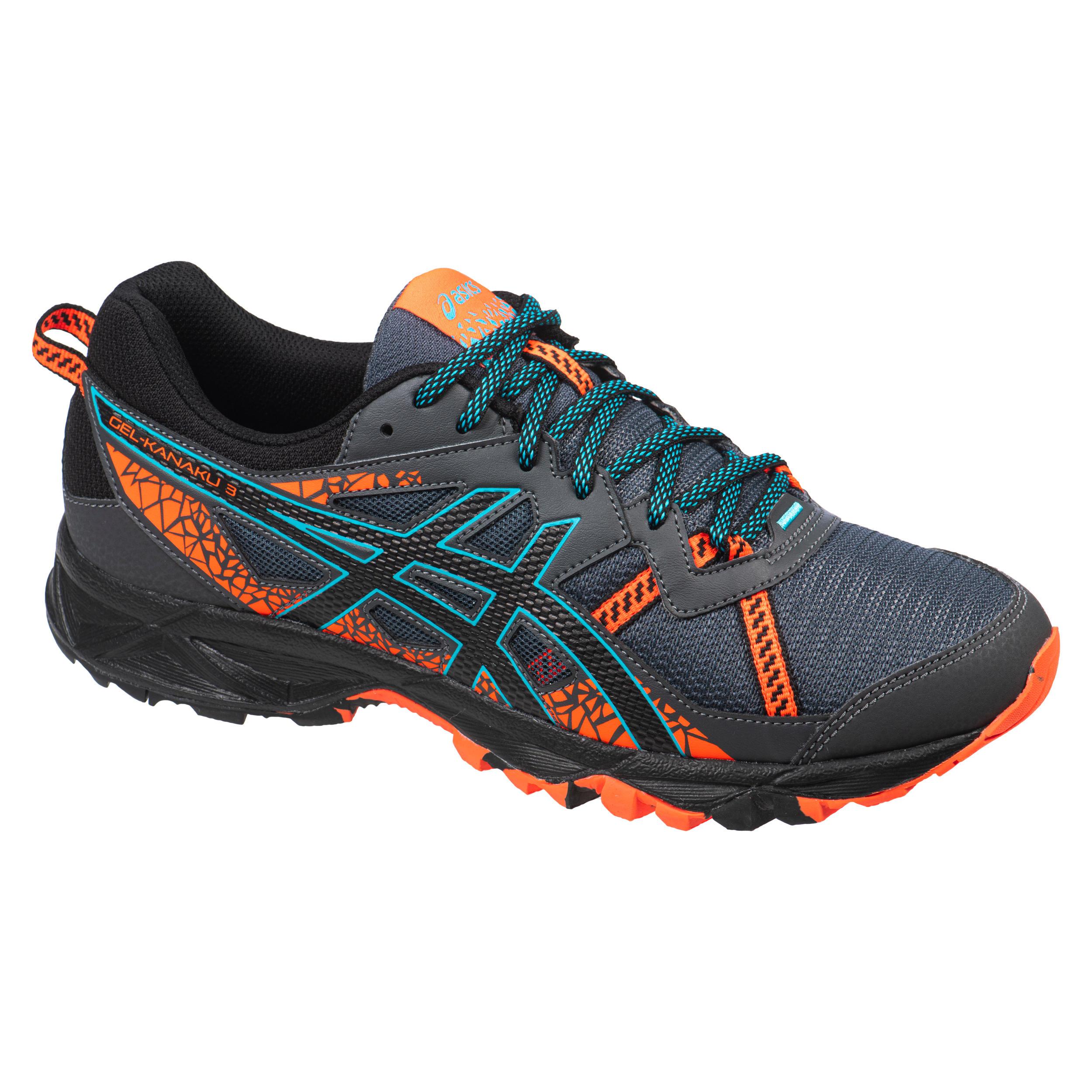 Men's Trail Running Shoe Asics Gel-Kanaku™ 3 - grey orange