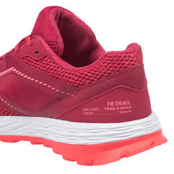 Calçado de Trail Running TR Mulher Rosa
