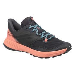 Laufschuhe Trail TR2 Damen schwarz/rosa/blau