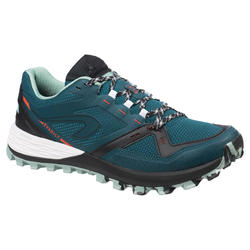 Men's mt2 trail running shoes - blue/green