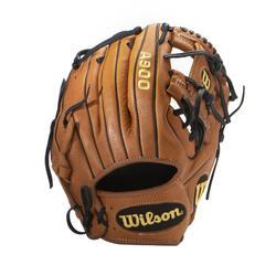 A900 11,5-Inch Left-Hand Baseball Glove - Brown