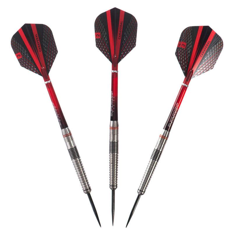 Pfeile und Dartscheiben Steeldart Darts - Dartpfeile T940 Steel Tip 3Stk CANAVERAL - Darts