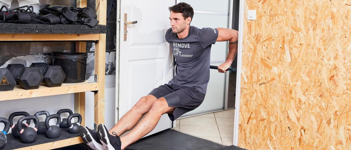 Musculation : quels exercices avec une barre de traction ?