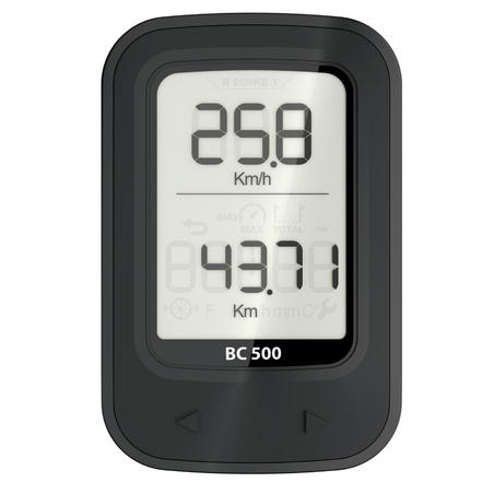 500 Wireless Cyclometer - Black
