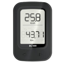 Conta-Km SEM FIO BICICLETA B'TWIN 500 PRETO