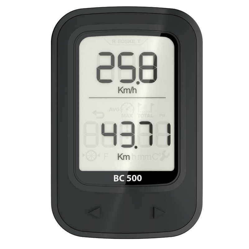 CYKELDATORER Elektronik - Cykeldator trådlös 500 VAN RYSEL - GPS