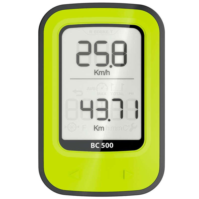 CONTOARE BICICLETĂ Ciclism - Ciclocomputer fără Fir 500  VAN RYSEL - Accesorii ciclism