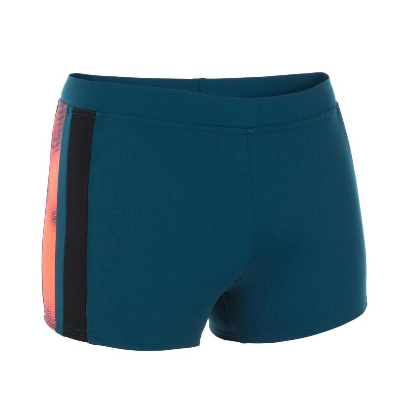 Zwemboxer heren Yoke blauw/rood