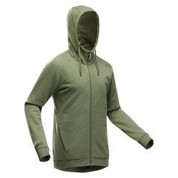 Hoodie met rits voor wandelen heren NH150