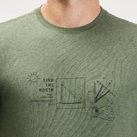 Men's NH500 off-road hiking T-shirt