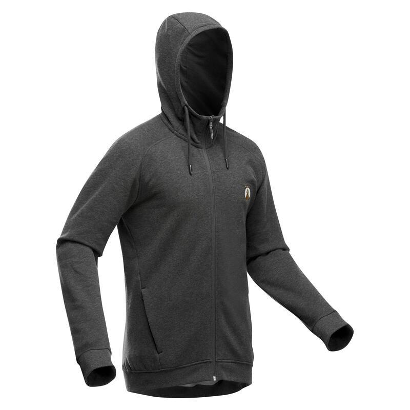 Sweat zippé à capuche de randonnée - NH150 - Homme