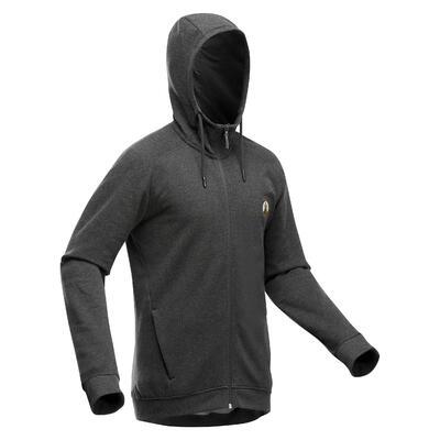 Sweat zippé à capuche de randonnée nature - NH150 - Homme