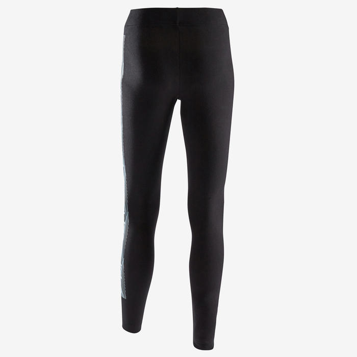 Legging Adidas Fitness Noir avec Motif