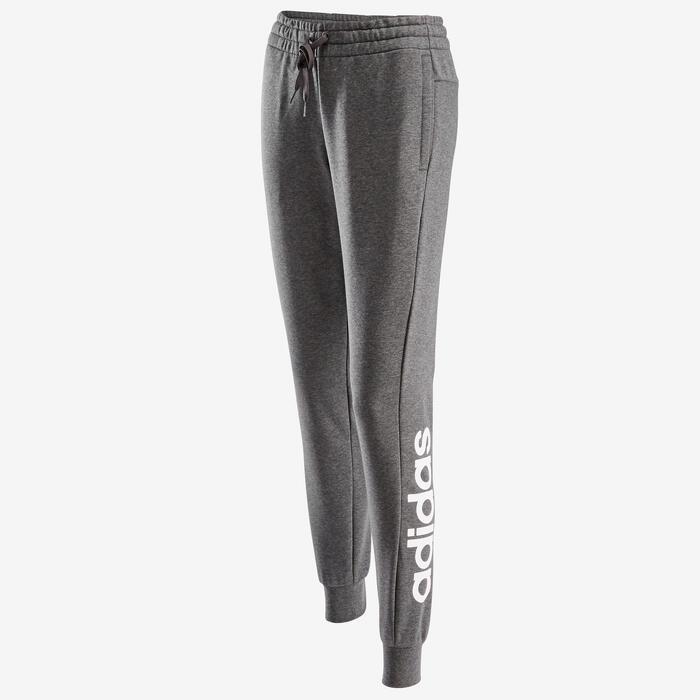 Pantalon Adidas Femme Gris