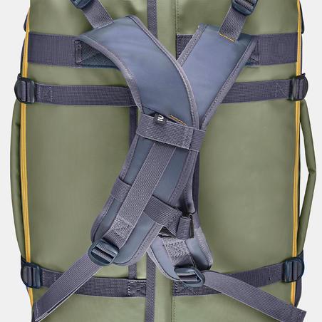 Trekking carry bag - Duffel 500 Extend - 40 to 60 litres - Khaki