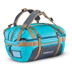 Transporttasche Duffel Trek 500 Extend 40 bis 60 Liter blau