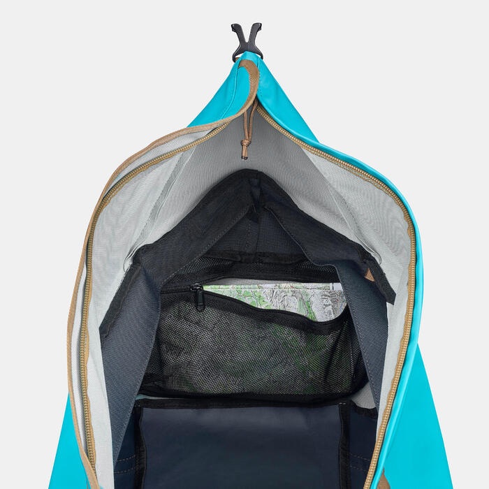健行攜帶包 40到60 L-藍色