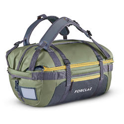 Trekking carry bag - Duffel 500 Extend - 40 to 60 litres - Khaki