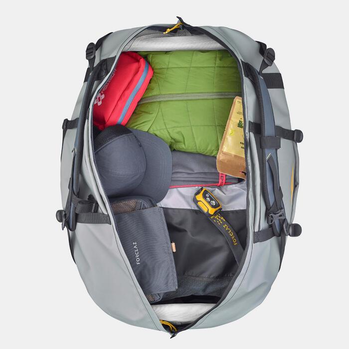 Sac de transport de trekking - EXTEND 80 à 120 litres - Gris