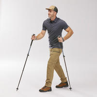1 Mountain Walking Pole with quick and precise adjustment - MH500 Grey