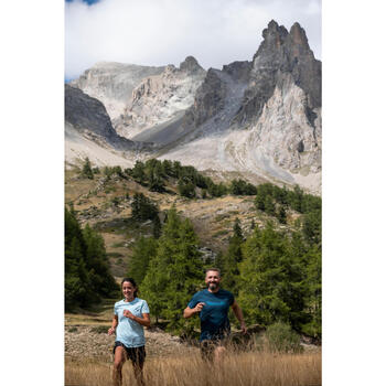 Women's trail running SL T-shirt - blue