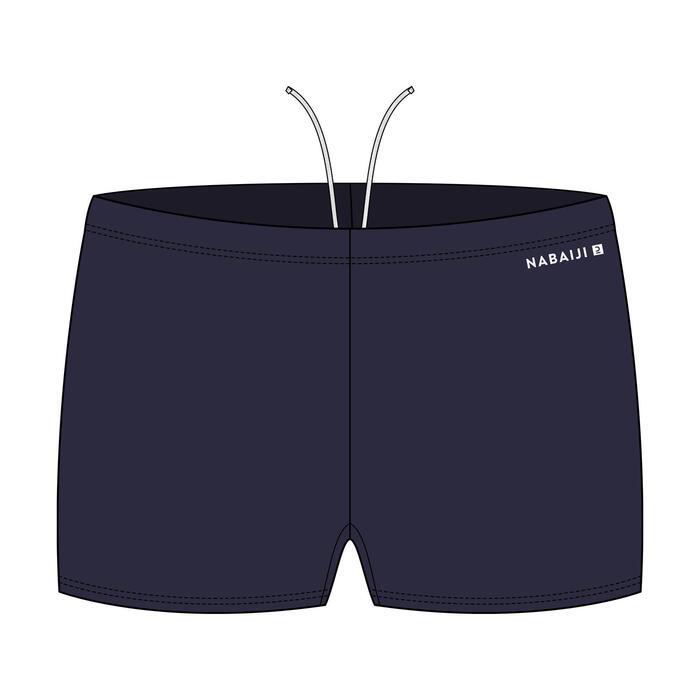 MEN'S SWIM BOXERS 100 BASIC - NAVY BLUE