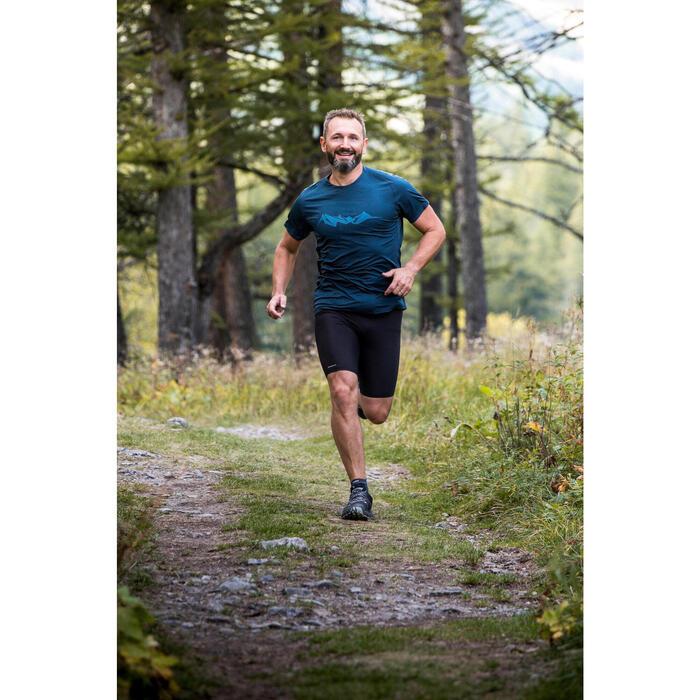 MEN'S TRAIL RUNNING TIGHT SHORTS EMBOSS