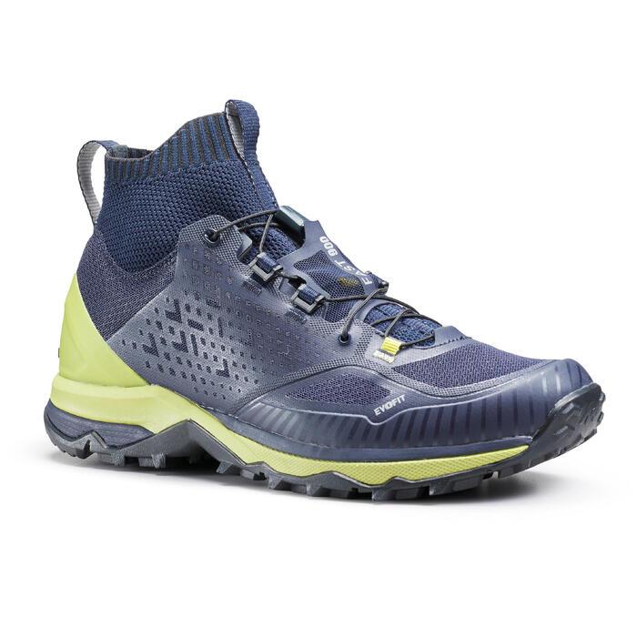 男款極速健行鞋FH900-黃色
