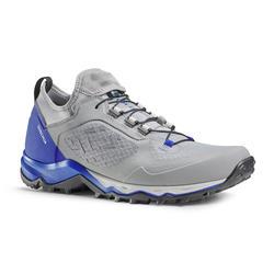 Scarpe trekking uomo FH500 grigio azzurre