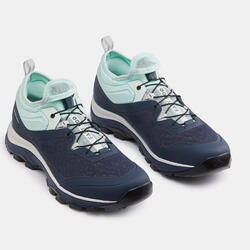 ULTRA-LIGHT HIKING SHOES - FH500 - BLUE - WOMEN