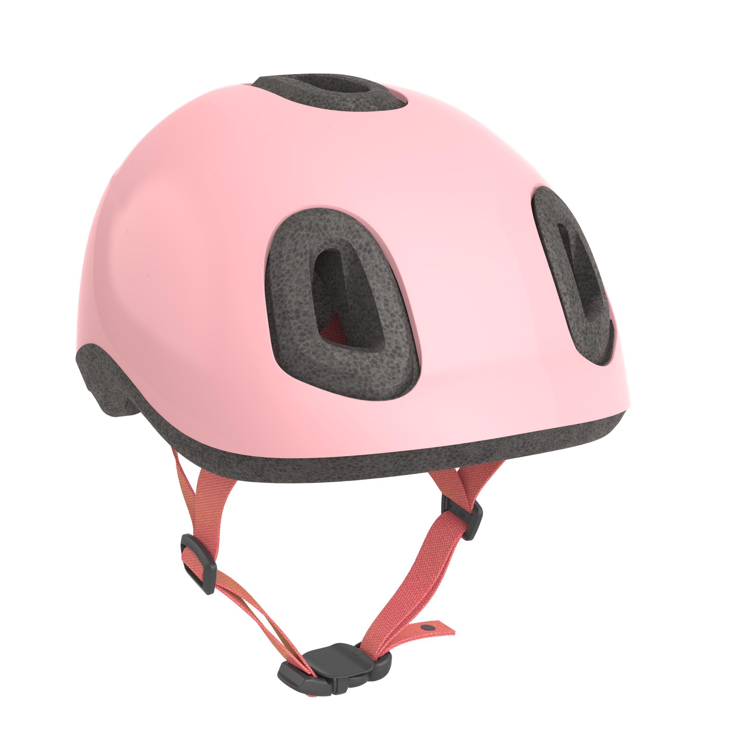 Cască Ciclism 500 Roz Copii
