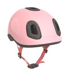 Casco bici bebè 500 rosa