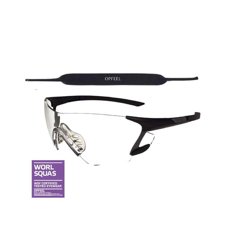 SQUASHRACKET Racketsport - Squashglasögon SPG 500 L OPFEEL - Squashutrustning