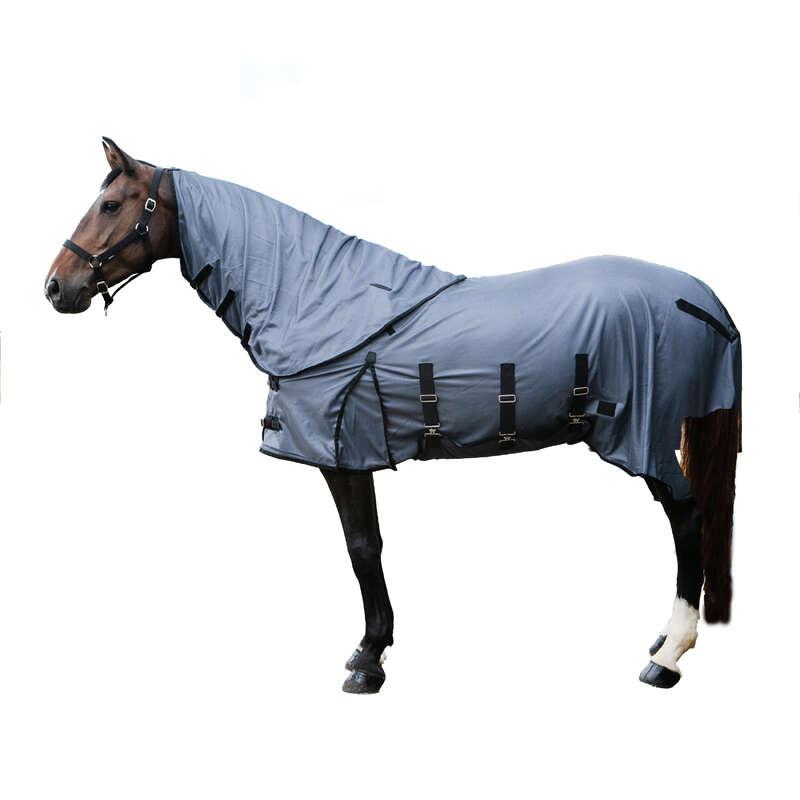 ЗАЩИТА ОТ НАСЕКОМЫХ Верховая езда - АНТИМОСКИТНАЯ ПОПОНА  FOUGANZA - Уход за лошадью