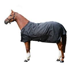 Waterdichte outdoordeken paard Allweather 50 zwart