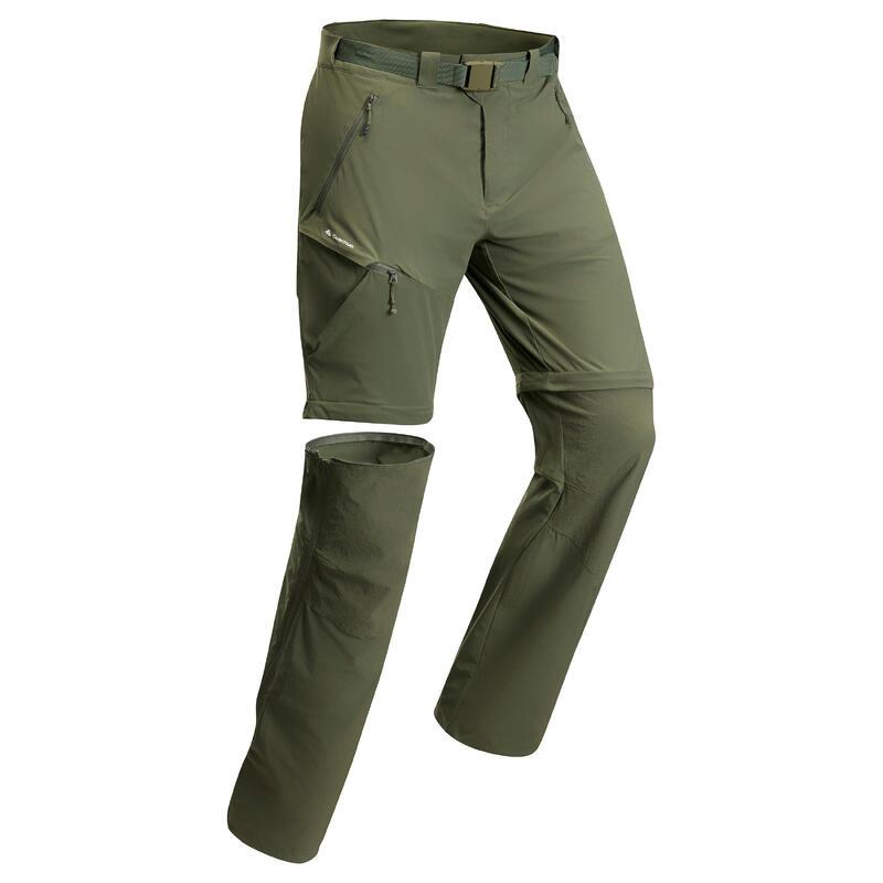 MH550 Men's Convertible Walking Trousers - Khaki