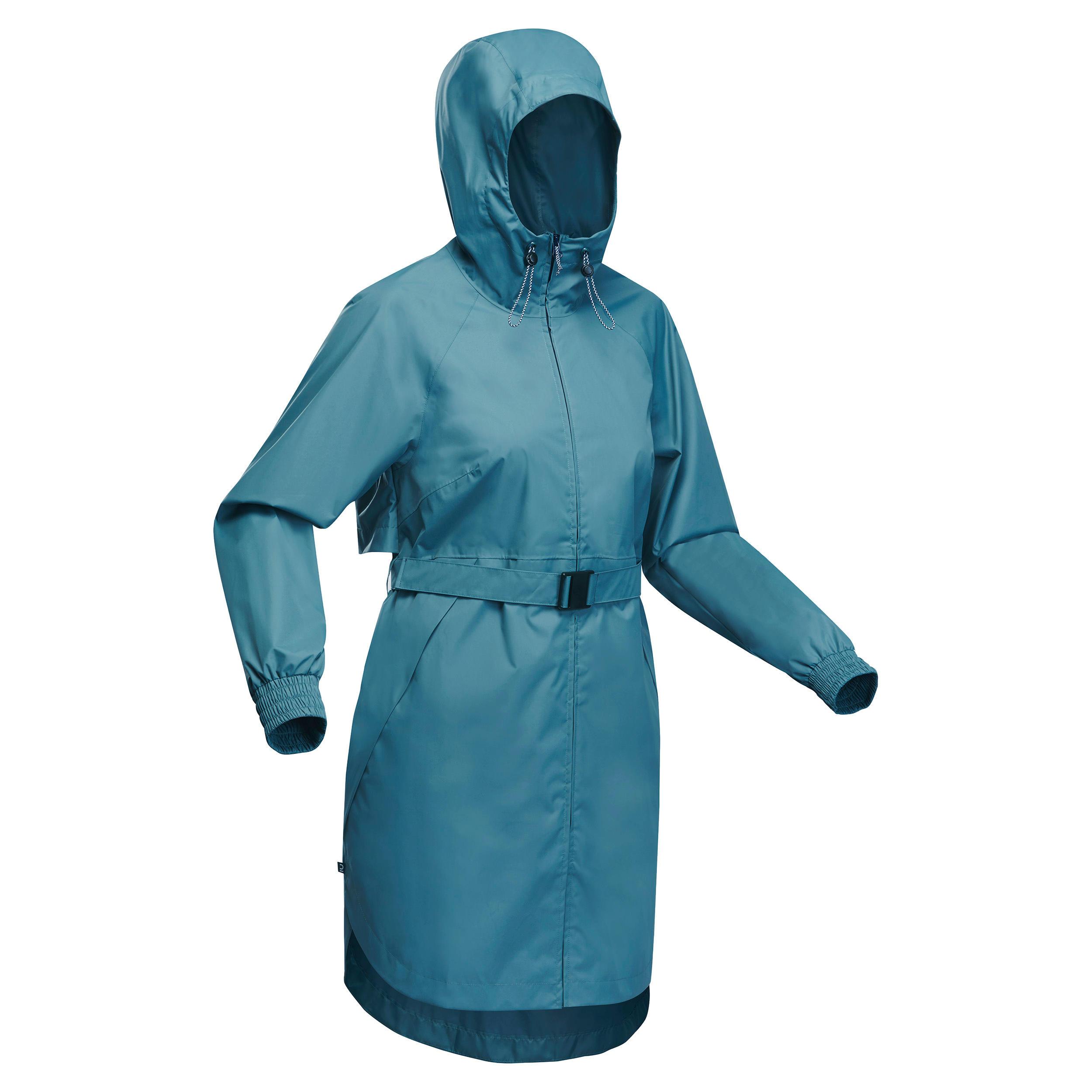 Jachetă Raincut Albastru Damă imagine