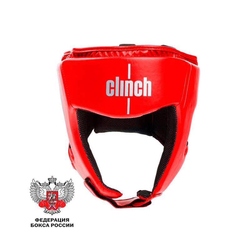 ЗАЩИТА ДЛЯ ЕДИНОБОРСТВ Бокс - Шлем боксер CLINCH OLIMP КРАСН CLINCH - Защита