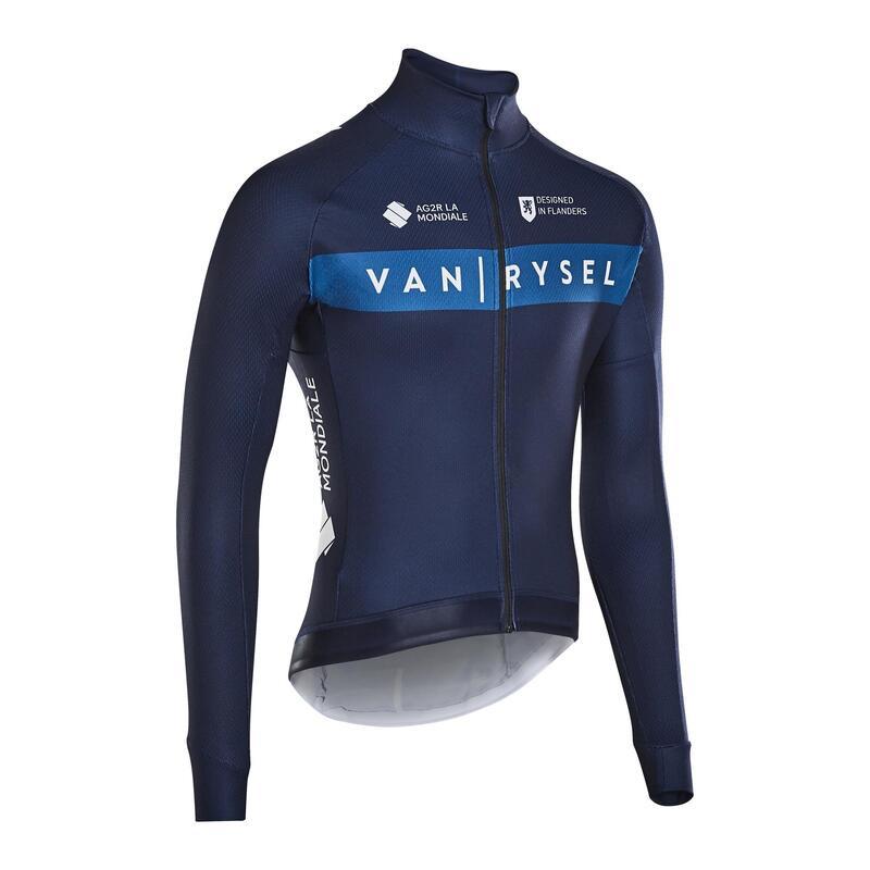 RCR Warm Long Sleeve Road Cycling Jersey - VR Team