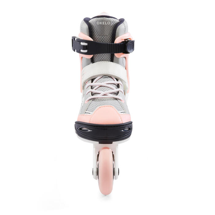 Kids' Inline Fitness Skates Fit3 - Bridal