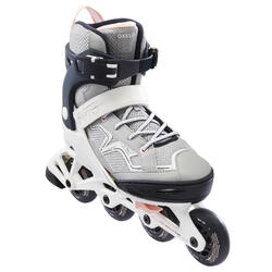 Inline-Skates Inliner Fitness FIT3 Kinder Dunkelblau