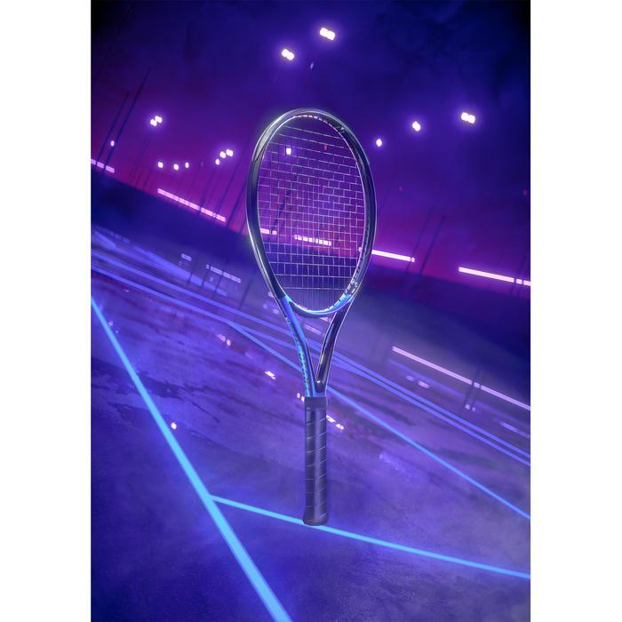 Raquette de tennis adulte TR930 Spin Lite noir bleu