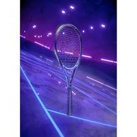Adult Tennis Racket TR930 Spin - Black/Blue