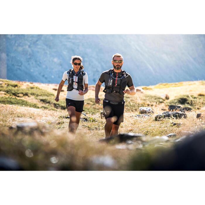Lunettes de running adulte RUNPERF Noir/Blanc catégorie 3